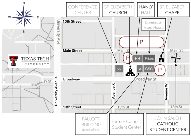 Student Center Map